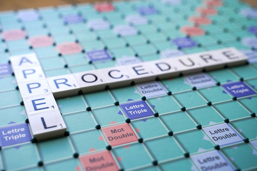 Les procédures en appel, une affaire de spécialiste